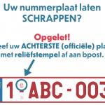 Hoe laat je je nummerplaat schrappen en waarom is het belangrijk?